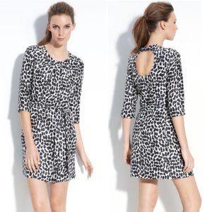 Kate Spade Dorothy Silk Animal Print Dress Size 6